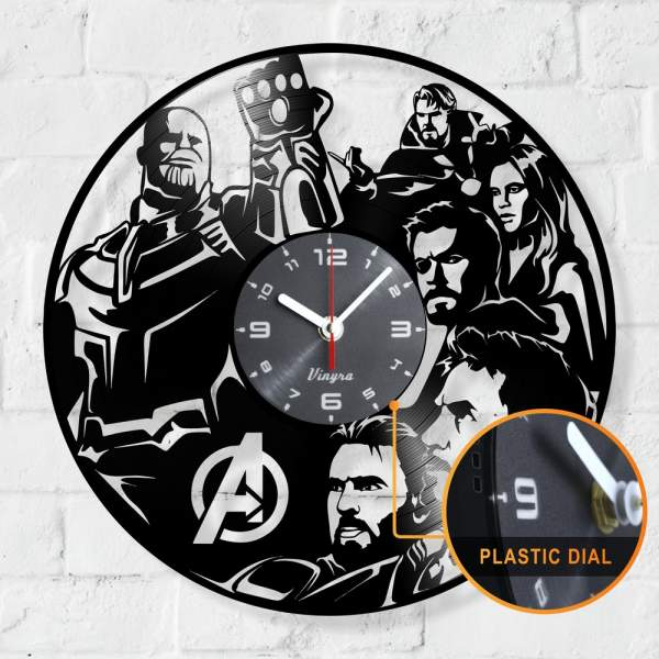 Avengers clock Marvel comics