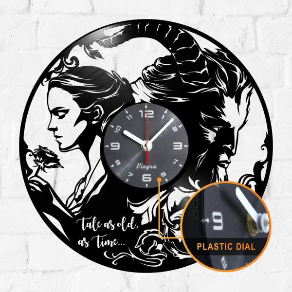 beauty beast clock