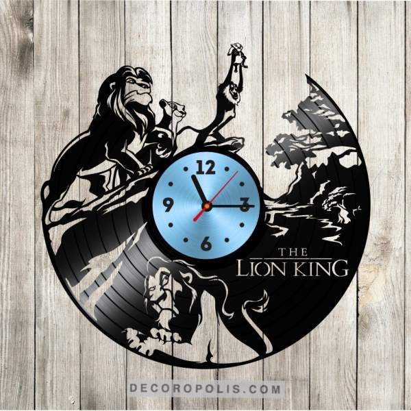 Merveilleux Disney Vinyl Record Clock Lion King Home Decor. Home; Disney Vinyl Record  Clock Lion King Home Decor