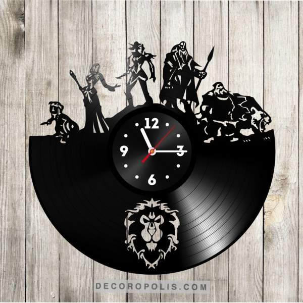 Warcraft clock photo