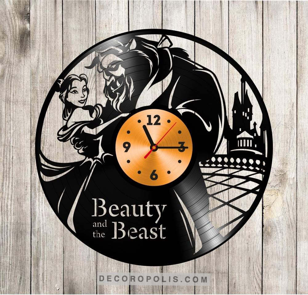 Recycled wall decor vinyl record lp clock disney decoropolis home recycled wall decor vinyl record lp clock disney view the full image amipublicfo Choice Image